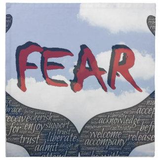 Furcht Stoffserviette