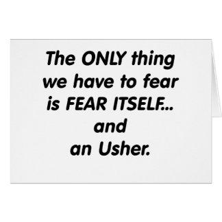Furcht Usher Karte