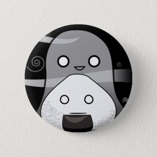 Furchtklemmen! Runder Button 5,1 Cm
