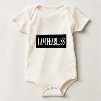 furchtlose positive Bestätigungsgedankenaussage Baby Strampler