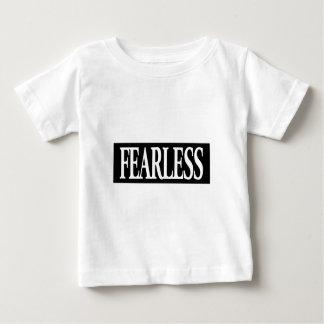 Furchtlose positive Bestätigungsgedankenaussage Baby T-shirt