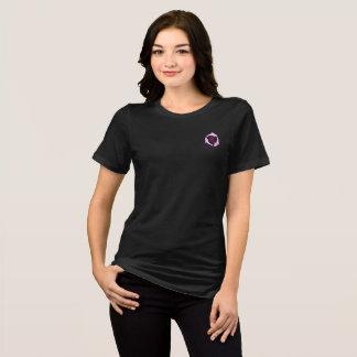 Furchtloses Bella schwarzes T-Stück T-Shirt