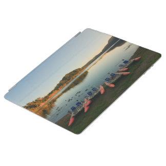 Furnas See am Sonnenuntergang iPad Hülle