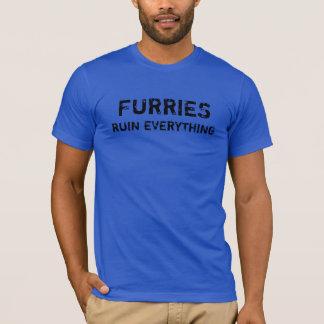 Furries Ruine alles T-Shirt