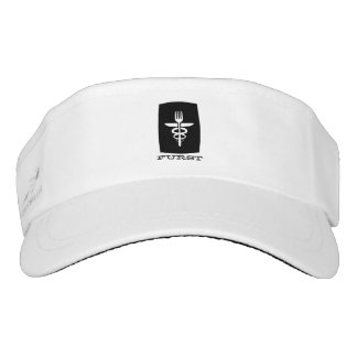 Furst 50. Jahrestag - Hut-Maske Visor