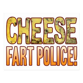 Furz-Polizei-Blauschimmelkäse Postkarte
