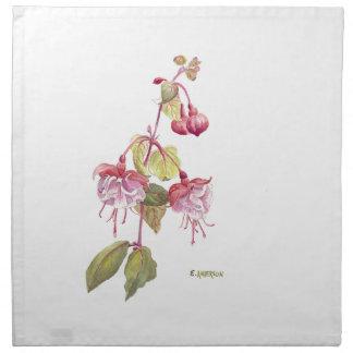 Fushia Blume Serviette