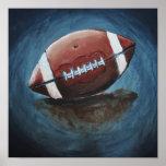 Fuß-Ball-Kunst-Druck Poster