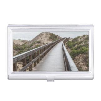Fuß-Brücke Oso Flaco am See-Staats-Park Visitenkarten Dose