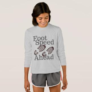 Fuß-Geschwindigkeits-voran Kleid
