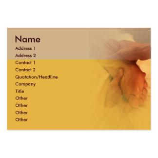 Fuß-Massage-Visitenkarte Jumbo-Visitenkarten
