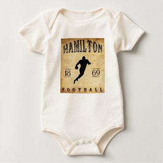 Fußball 1869 Hamiltons Ontario Kanada Baby Strampler
