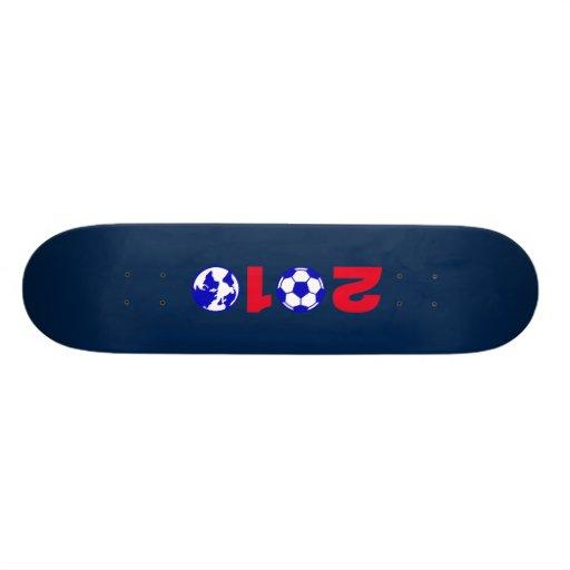 Fußball 2010 skateboarddecks