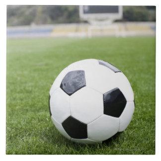 Fußball 4 große quadratische fliese