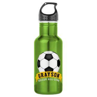 Fußball All-Star- Edelstahlflasche