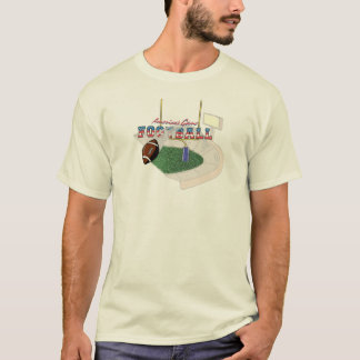 Fußball - Amerikas Spielentwurf T-Shirt