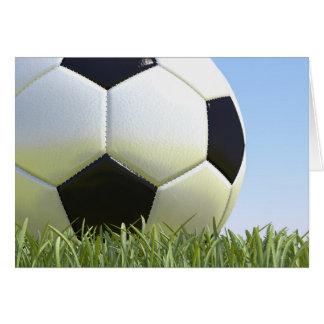 Fußball auf Gras Karte