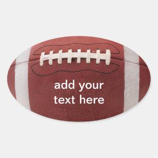 Fußball-Aufkleber personalisiert!