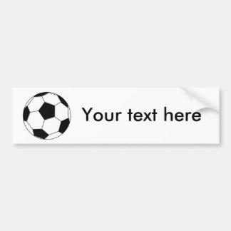 Fußball Autoaufkleber