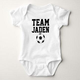 Fußball-Baby-Jersey-Bodysuit Baby Strampler