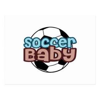 Fußball-Baby Postkarte