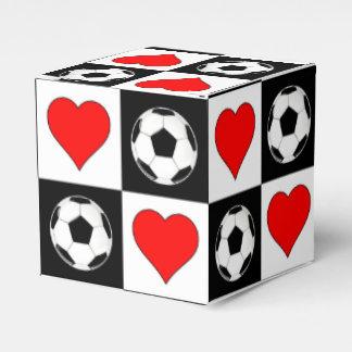 Fußball-Ball-u. Herz-Geschenkboxen für Geschenkschachtel