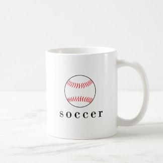 Fußball-Baseball-lustiger unglaublich witzig Kaffeetasse