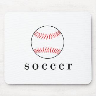 Fußball-Baseball-lustiger unglaublich witzig Sport Mousepad