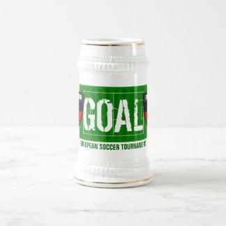 Fußball-Bier-Tasse ZielDeutschland Deutschland eur