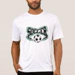 Fußball-Blitzbolzen T Shirts