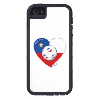 """Fußball """"CHILE"""" 2014. Nationaler Chilean Team socc iPhone 5 Schutzhüllen"""