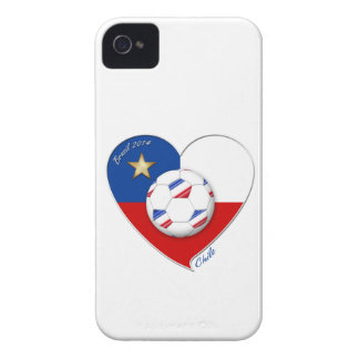 """Fußball """"CHILE"""" 2014. Nationaler Chilean Team socc iPhone 4 Cover"""