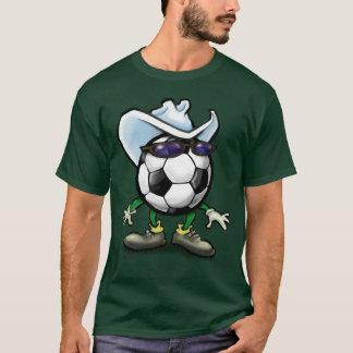 Fußball-Cowboy T-Shirt