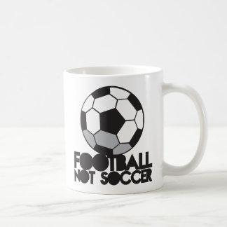 Fußball des FUSSBALLS nicht! Ball-Shirt Tasse