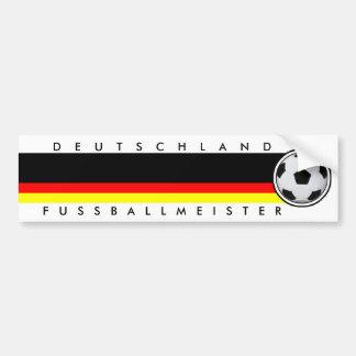 Fussball Deutschland Fußballmeister Sticker Autoaufkleber