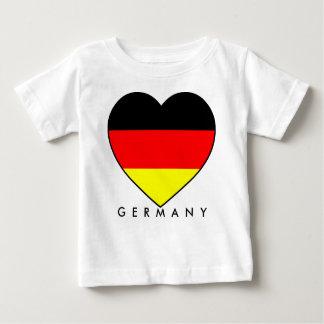 """Fussball Deutschland """"Germany"""" Herz WM 2010 Baby T-shirt"""