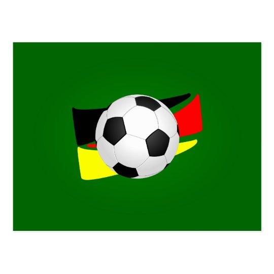 Fussball Deutschland soccer Germany Postkarte