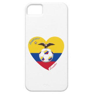 """Fußball """"ECUADOR"""". Ecuadorian National Soccer Team iPhone 5 Schutzhülle"""