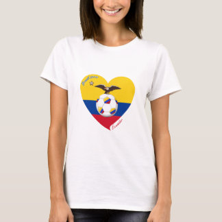 "Fußball ""ECUADOR"". Ecuadorian National Soccer Team T-Shirt"