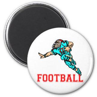 Fußball-Entwürfe Runder Magnet 5,7 Cm