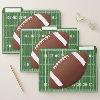 Fußball-Entwurfs-Datei-Ordner-Set Papiermappe
