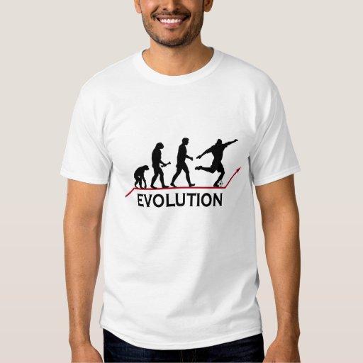 Fußball-Evolutions-T - Shirt