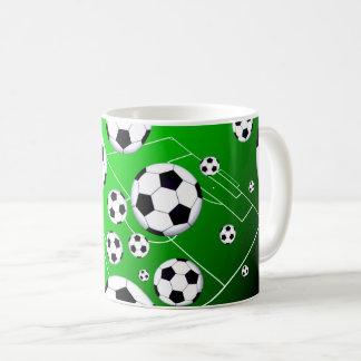 Fußball-Feld-Tasse Kaffeetasse