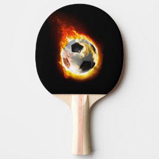 Fußball-Feuer-Ball-Klingeln Pong Paddel Tischtennis Schläger