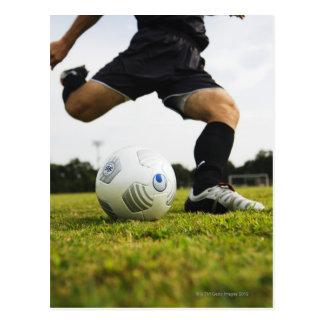 Fußball (Fußball) 5 Postkarte