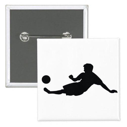Fußball-Fußball Button