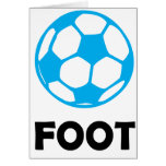 Fußball/Fußball Grußkarte