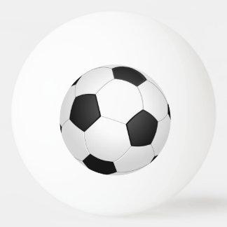 Fußball-Fußball-Illustrations-Klingeln Pong Ball Tischtennis Ball