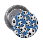 Fußball-Fußball-Knopf Button
