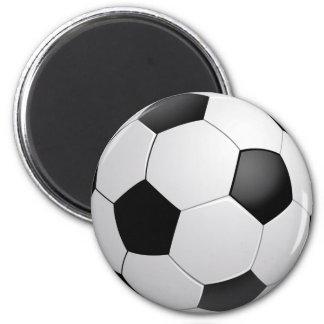 Fußball-Fußball-Magnet Runder Magnet 5,1 Cm